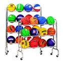 PORTABLE BALL RACKS